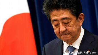 Japan Premirminister Shinzo Abe erklärt Rücktritt