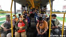 Indonesien Corona-Pandemie | ÖPNV