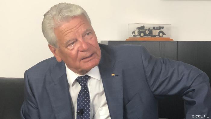 Berlin | ehemaliger Bundespräsident Joachim Gauck im DW Interview