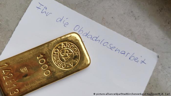 BdT - Goldsegen für die Diakonie (picture-alliance/dpa/Stadtkirchenverband Hannover/B.-S. Carl)
