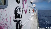 Rettungsschiff MV Louise Michel | Banksy