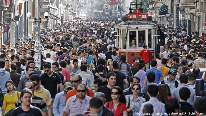 Handlowa ulica w Stambule