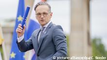 Deutschland Berlin | Heiko Maas, Außenminister | Übernahme EU-Ratspräsidentschaft
