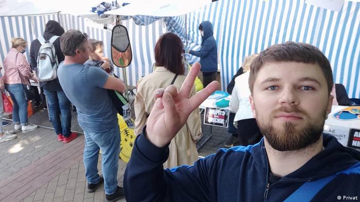 Iuri Rovovoi, angajat al unei fabrici de îngrășăminte din Grodno