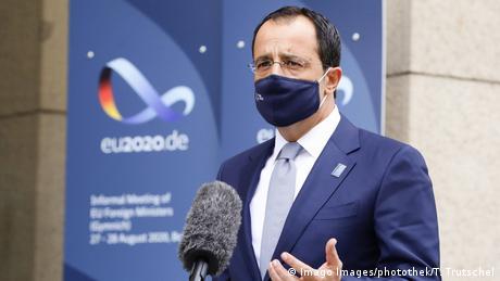 """Χριστοδουλίδης στηDW: """"Ναι"""" στις κυρώσεις κατά της Λευκορωσίας"""
