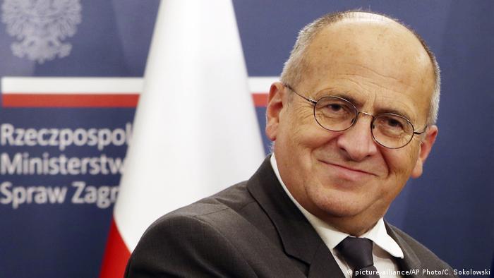 Der polnische Außenminister Zbigniew Rau