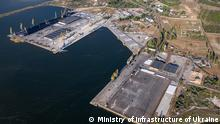 Ukraine Mykolajiw | Thema Abkommen Katar | Hafen Olwia, Schwarzes Meer