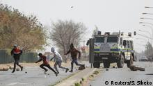 Südafrika Johannesburg | Unruhen nach Tod eines Teenagers in Eldorado Park
