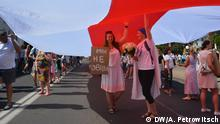 Belarus Protest gegen Präsident Alexander Lukaschenko