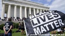 USA Washington | Black Lives Matter | Protest gegen Rassismus