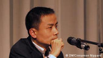 Blogger and columnist, Michael Anti (Zhao Jing).
