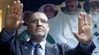 A member of Egypt's Muslim Brotherhood