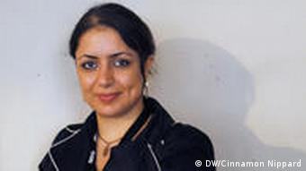 Journalist Farnaz Seifi, who was one of the first female bloggers in Iran.