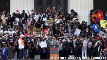 USA | Washington | Black Lives Matter | Protest gegen Rassismus