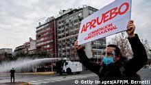 Chile Santiago Coronavirus | Proteste gegen Regierung
