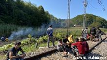 28.08.2020 Migrantenkrise in Bosnien-Herzegowina