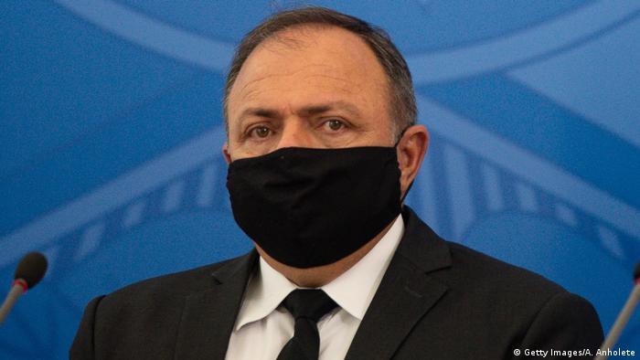 Brasilien Gesundheitsminister Eduardo Pazuello (Getty Images/A. Anholete)