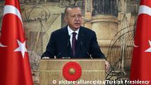 Türkei Recep Tayyip Erdogan Erdgas Fund Mittelmeer