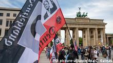 Deutschland Berlin Protest gegen Corona-Maßnahmen