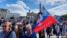 Deutschland Berlin Demonstration gegen Corona-Politik