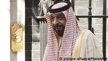 Scheich Chalifa bin Said al-Nahjan UAE