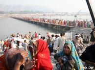 Pilgrims prepare for the most important day of the Kumbh Mela, Baisakhi