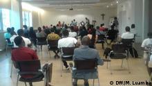 Angola Debatte über Arbeitslosigkeit