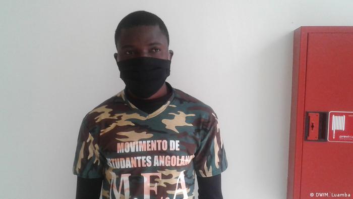 Angola Joaquim Lutambi (DW/M. Luamba)