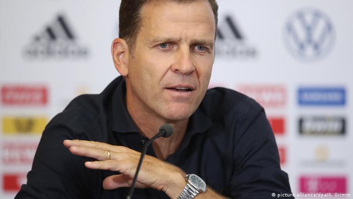 Oliver Bierhoff, director deportivo de la DFB