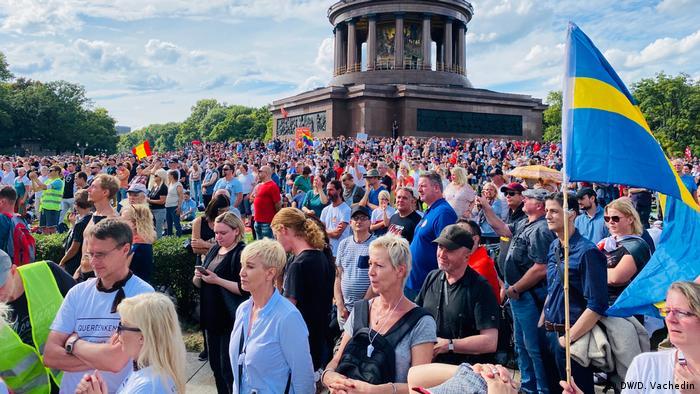 Ovako su izgledali protesti prije incidenta.