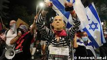 Israel | Demonstration gegen den israelischen Ministerpräsidenten Benjamin Netanjahu in Jerusalem