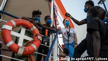 Malta | Flüchtlinge an Bord der Sea Watch 4