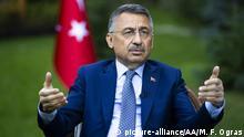 Türkei Ankara | Türkischer Vizepräsident Fuat Oktay