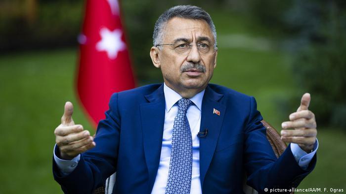 Türkei Ankara   Türkischer Vizepräsident Fuat Oktay