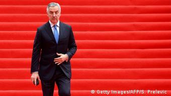 Montenegro Cetinje   Präsident Milo Djukanovic