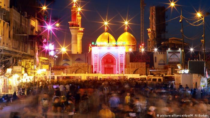 Ashura in Irak Religiöses Fest Islam