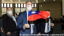 Taiwan Tschechische Delegation in eingetroffen