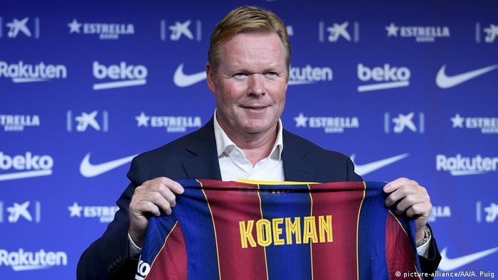 Spanien F.C. Barcelona | Neuer Coach Ronald Koeman