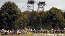 Deutschland Demonstration am Garzweiler Tagebau