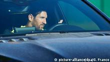 08.05.2020*** Spanien, Sant Joan Despi: Leo Messi von FC Barcelona kommt in Ciutat Esportiva Joan Gamper an, um zu trainieren. Foto: Gerard Franco/DAX via ZUMA Wire/dpa +++ dpa-Bildfunk +++ |