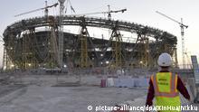 Ausländische Arbeiter für die WM 2022 in Katar