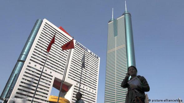 برج ۳۸۴ متری سنشین در جنوب چین. آیا یک رشد شتابناک، رکود اقتصادی را در پی خواهد داشت؟