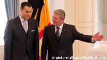 Deutschland Gauck empfängt neuen Botschafter aus dem Libanon