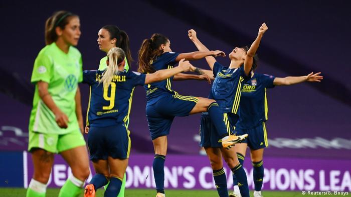 Frauen UEFA Champions League | Finale - VfL Wolfsburg vs Olympique Lyonnais | Torjubel (0:2) (Reuters/G. Bouys)