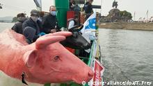 Deutschland Milchbauern protestieren in Koblenz