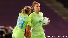 Frauen UEFA Champions League | Finale - VfL Wolfsburg vs Olympique Lyonnais | Torjubel (1:2)