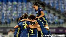 Frauen UEFA Champions League | Finale - VfL Wolfsburg vs Olympique Lyonnais | Torjubel (1:3)