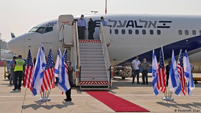 Перший прямий авіарейс з Ізраїлю в ОАЕ після нормалізації відносин між двома країнами відбувся 31 серпня 2020 року