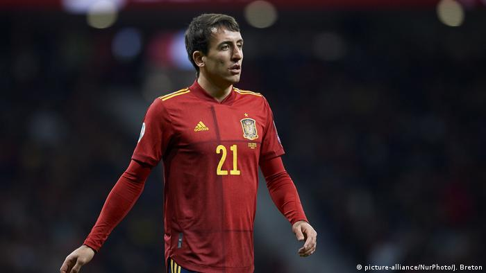 Spain's Mikel Oyarzabal (picture-alliance/NurPhoto/J. Breton)