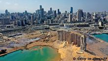 Libanon Beirut Explosion Zerstörte Stadt